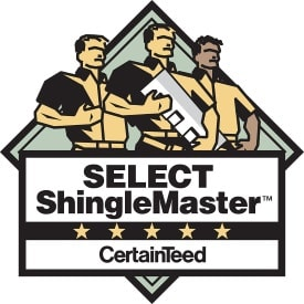 Select shingle master certified roofer in Portsmouth