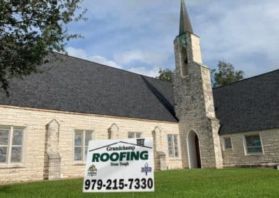 New Roof Caldwell Church