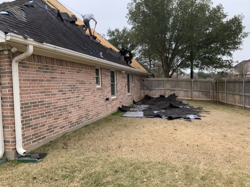 College Station Residential Home Roof